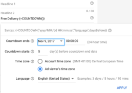 5 Essentials of Holiday Marketing with AdWords Screen Shot 2017 11 09 at 11