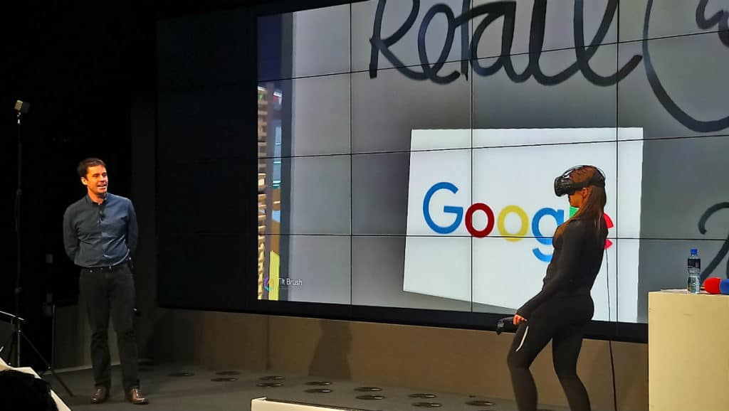 Retail at Google 2018: Inspiration & Advice from Experts Retail at Google 2018 VR session 1024x578