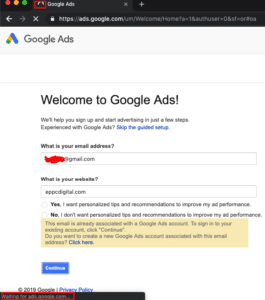 3 common errors when setting up a Google Ads account and the solutions for them waiting for google ads 265x300