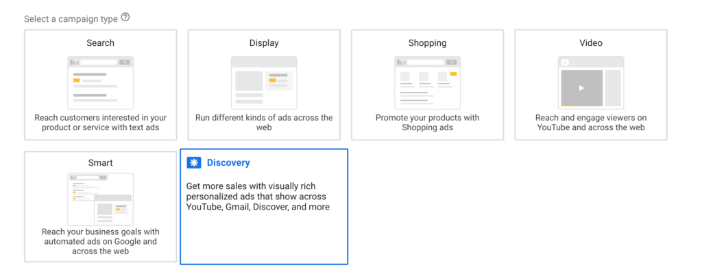 Discovery campaign display best practises Google Display Campaigns Best Practices Discovery campaign 1024x403