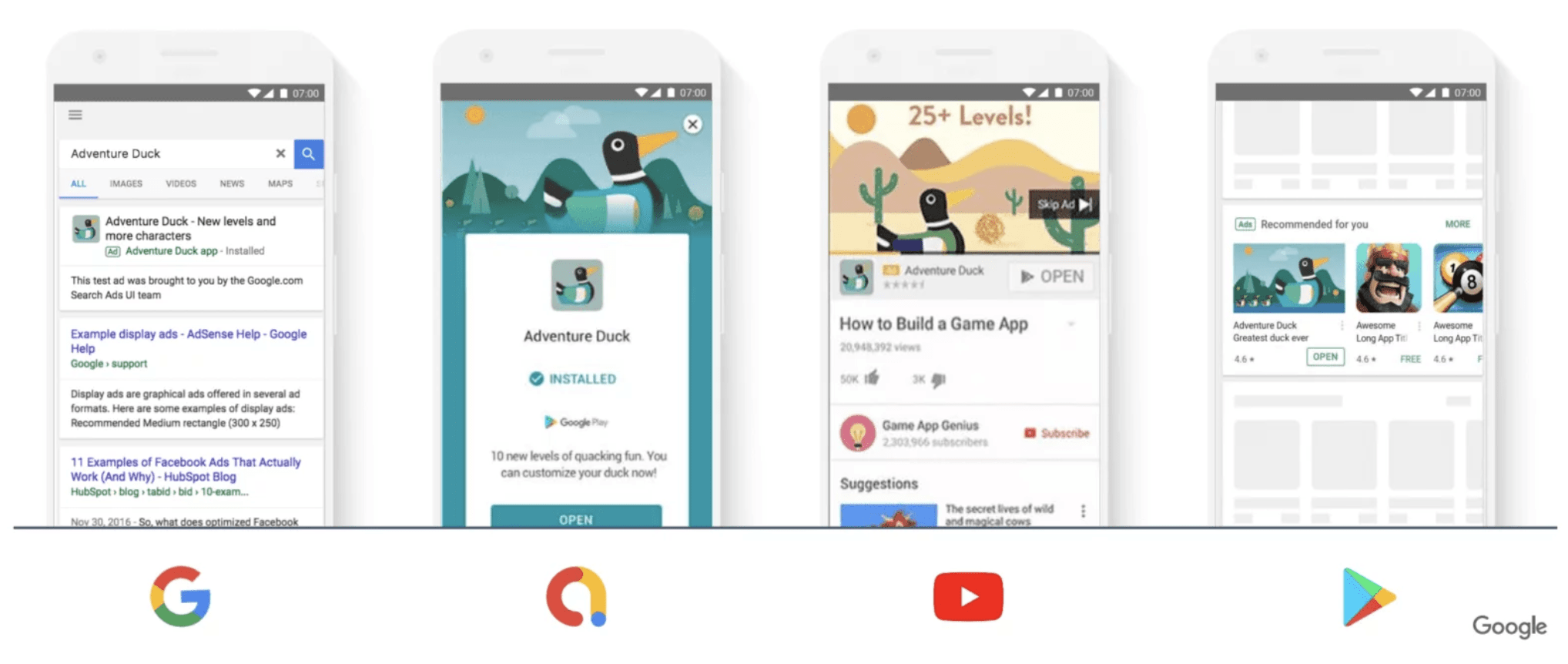 Google App campaigns examples